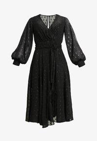Forever New Petite - SIENNA MIDI DRESS - Cocktailkleid/festliches Kleid - black - 6