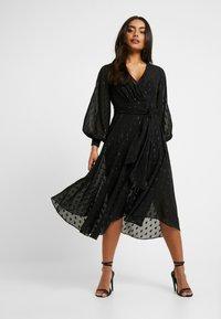 Forever New Petite - SIENNA MIDI DRESS - Cocktailkleid/festliches Kleid - black - 2