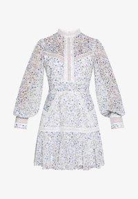 Forever New Petite - MADDISON TRIM SPLICE DRESS - Robe d'été - white - 4