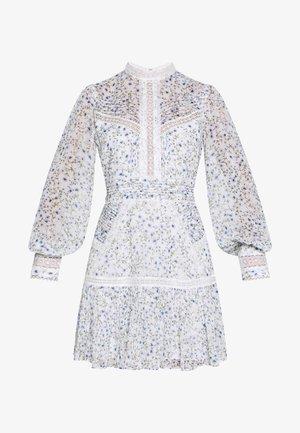 MADDISON TRIM SPLICE DRESS - Hverdagskjoler - white