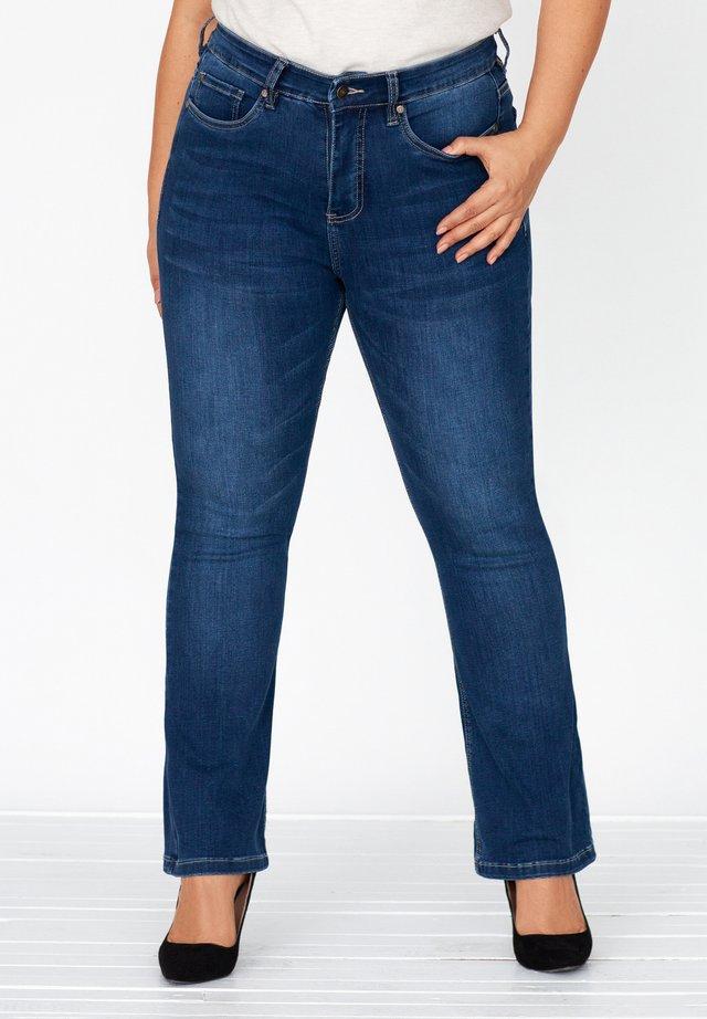 BILI - Bootcut jeans - rocky blue