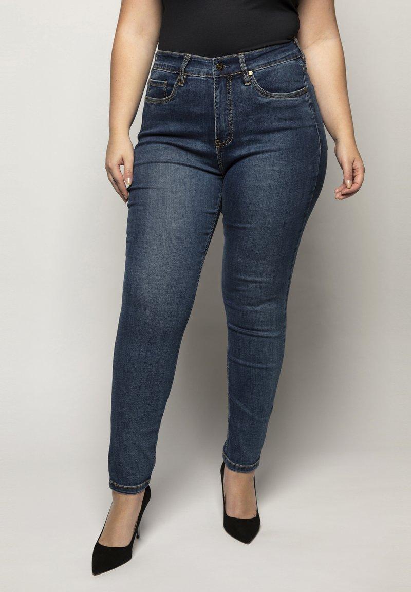 FOX FACTOR - IRI - Jeans Skinny Fit - eagle blue