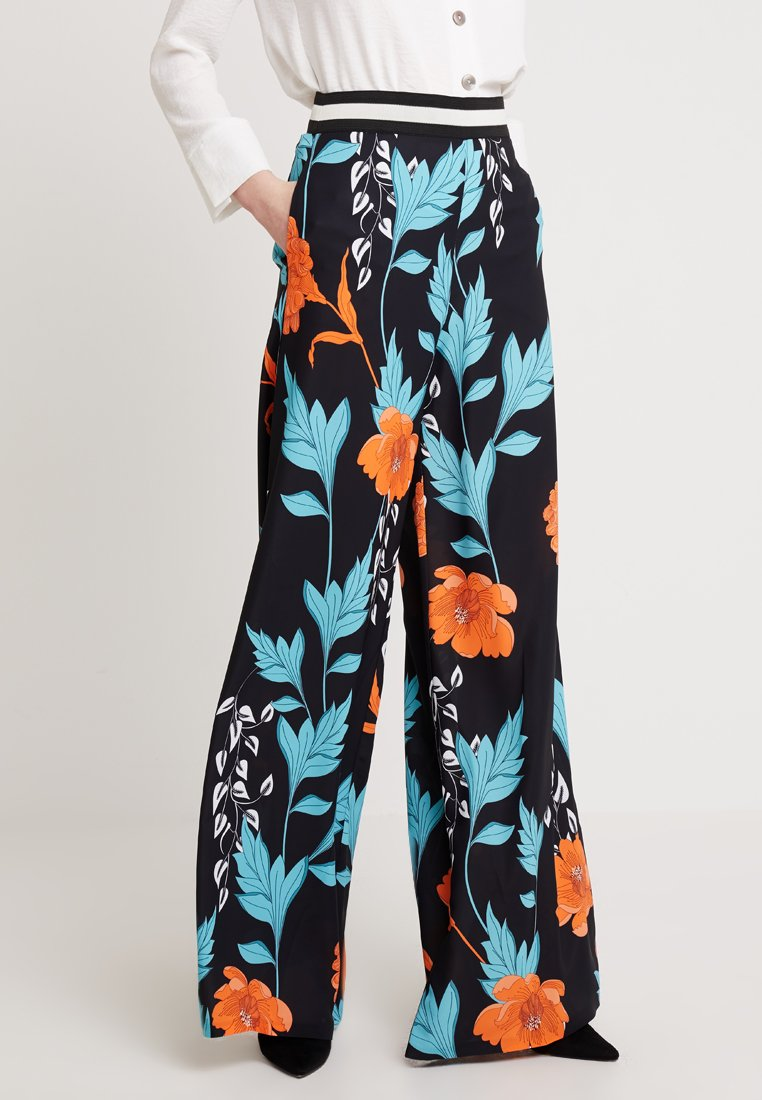 Forever Unique Main Collection - TENNESSEE - Stoffhose - blue/orange