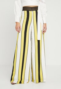 Forever Unique Main Collection - VIDA - Stoffhose - ivory/yellow/black - 0