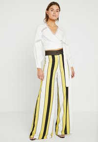 Forever Unique Main Collection - VIDA - Stoffhose - ivory/yellow/black - 1