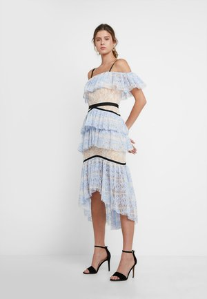 TATLER - Vestito elegante - blue/nude