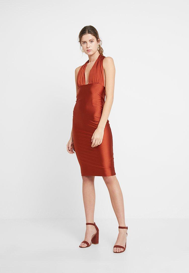 Forever Unique Main Collection - CALLA - Shift dress - bronze