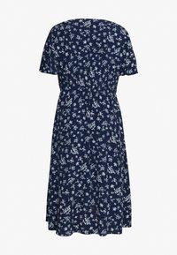 Forever New Curve - OLLIE SHIRRED CURVE WRAP DRESS - Day dress - jasmine white - 1