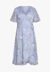 Forever New Curve - EBONY RUCHED - Day dress - dusty bluebell floral - 4