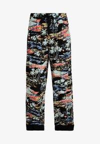 Free People - LAGOON PANT - Spodnie materiałowe - black - 3