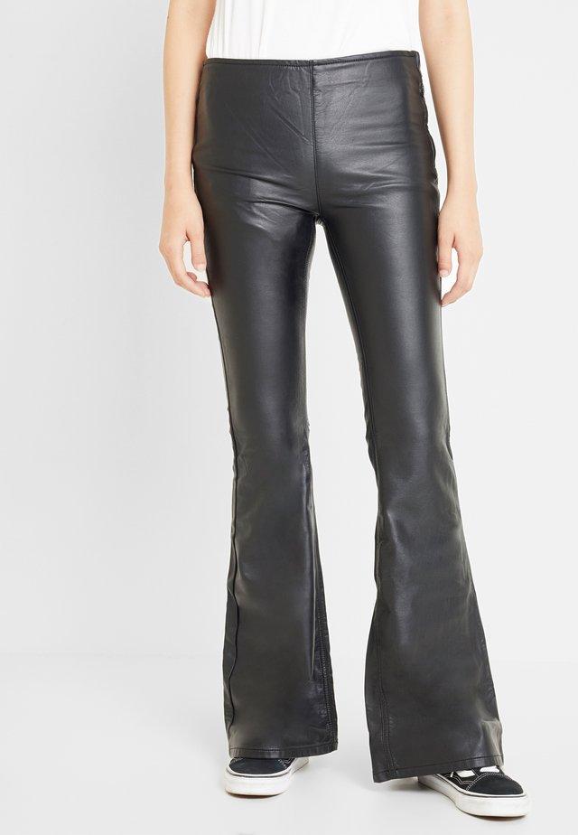 PENNY PULL ON VEGAN - Kalhoty - black