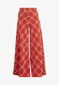 Free People - WONDERLAND WIDE LEG - Pantaloni - red - 4