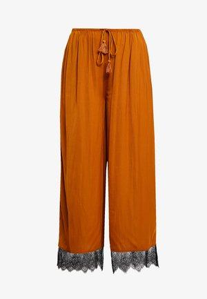 TALKING IN MY SLEEP PANT - Kalhoty - bronze