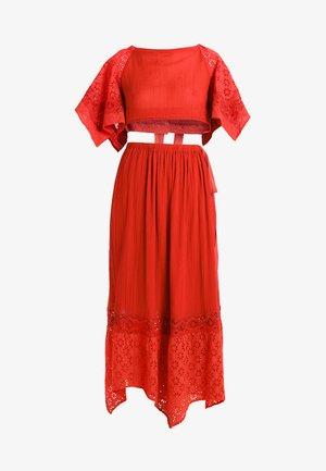 DARLING SKIRT SET - Długa spódnica - red
