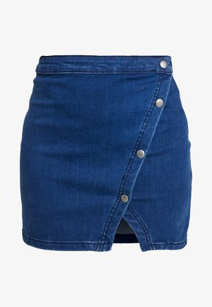 NOTCHED - Gonna di jeans - indigo blue