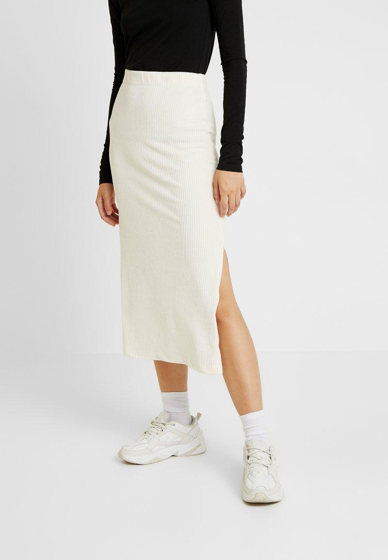 Free People - HELEN TUBE SKIRT - Pencil skirt - ivory