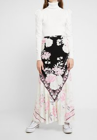 Free People - BALI AFTER HOURS SKIRT - Maxi sukně - cream - 0