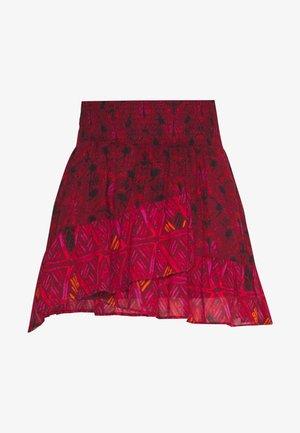 RIVIERA MINI - Áčková sukně - red
