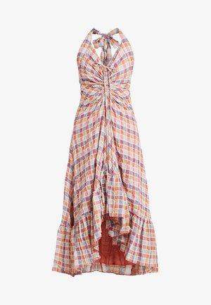 RAINBOW DREAMS - Długa sukienka - pink combo