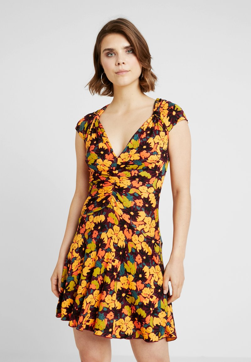 Free People - KEY TO YOUR HEART - Jerseykleid - plum