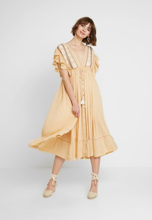 WILL WAIT FOR YOU MIDI - Maxi dress - natural