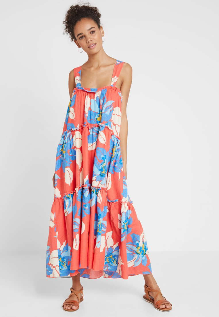 Free People - MOONSHINE - Maxikleid - orange combo