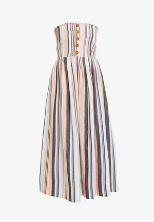 LILAH PLEATED TUBE DRESS - Maxi dress - multi