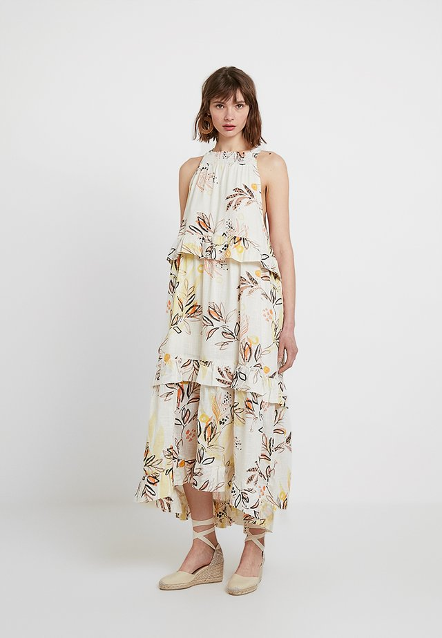 ANITA PRINTED - Długa sukienka - ivory