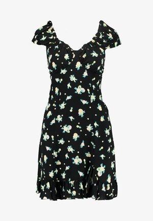 LIKE A LADY PRINTED MINI - Robe d'été - black