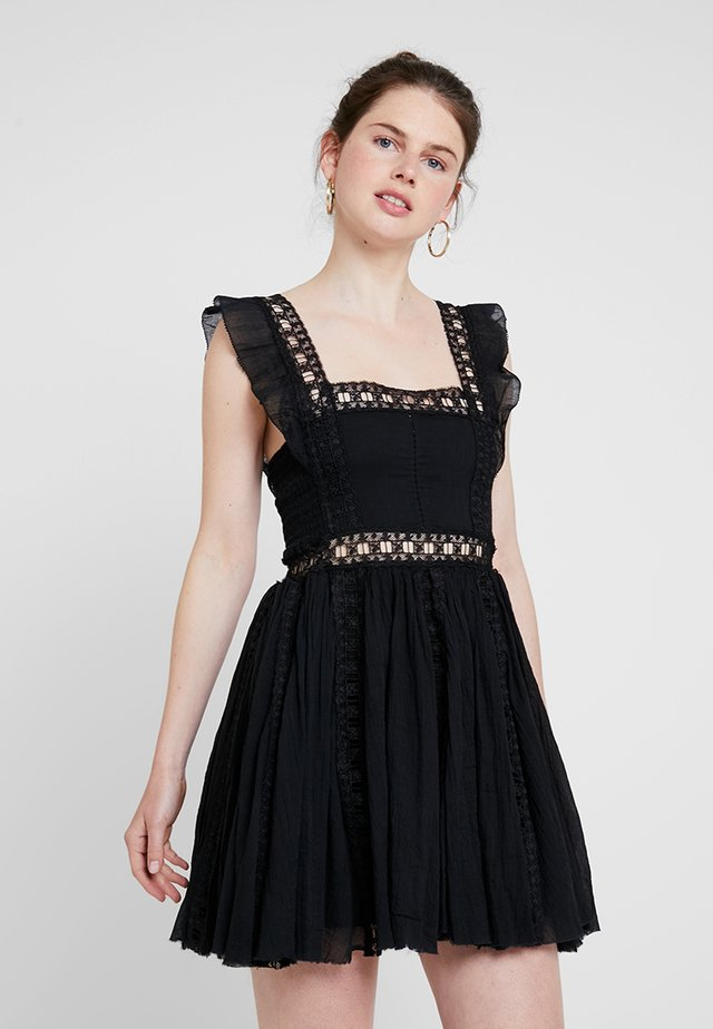 VERONA DRESS - Sukienka letnia - black