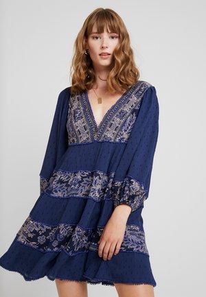 MY LOVE - Vestido informal - blue