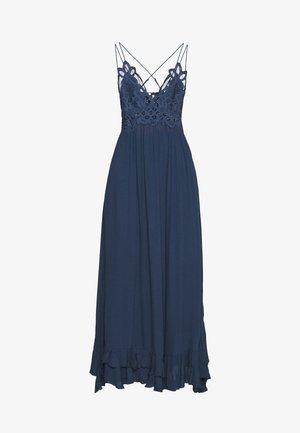 ADELLA SLIP - Maxi šaty - blue
