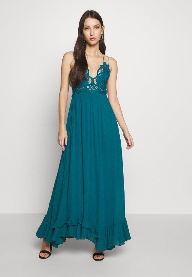 ADELLA SLIP - Długa sukienka - petrol