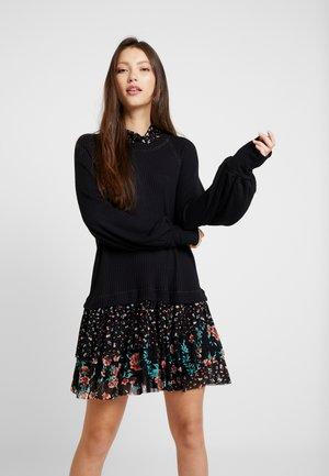 OPPOSITE ATTRACT MINI - Denní šaty - black