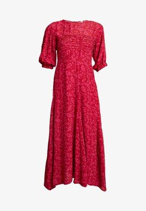 JESSIE - Maxi šaty - red