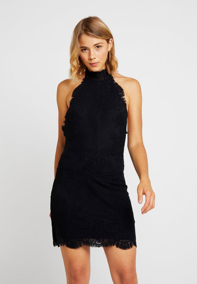 Free People - HARPER HIGH NECK SLIP - Cocktailkleid/festliches Kleid - black