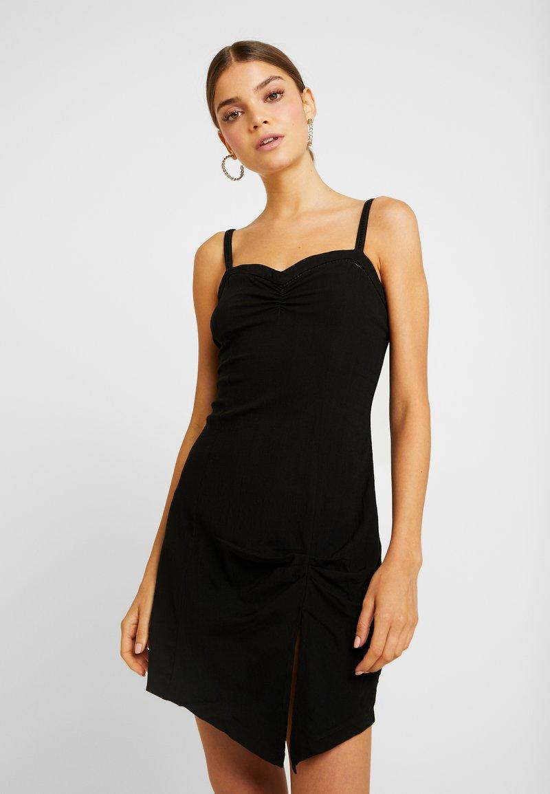Free People - MONROE MINI - Shift dress - black