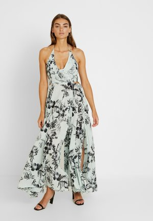 LILLE PRINTED - Robe longue - blue