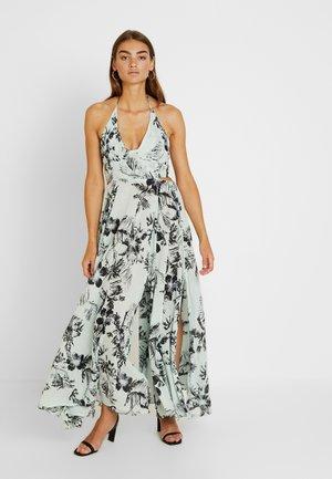 LILLE PRINTED - Maxi šaty - blue