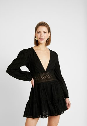 THE DELIGHTFUL MINI - Robe d'été - black
