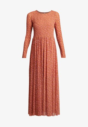 HELLO AND GOODYBYE MIDI - Maxi dress - brown