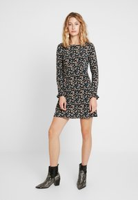 Free People - SAY HELLO MINI - Robe d'été - black - 0