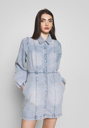 MIA MINI - Denimové šaty - blue