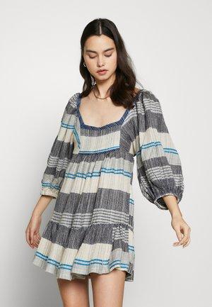 COZY MINI - Denní šaty - blue