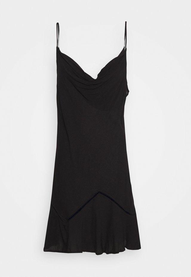 FOREVER FIELDS MINI - Denní šaty - black