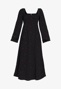 Free People - IRIS MIDI DRESS - Vestito estivo - black - 4