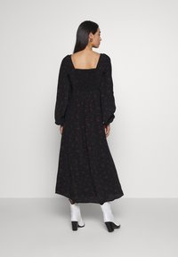 Free People - IRIS MIDI DRESS - Vestito estivo - black - 2
