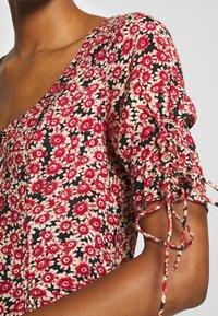 Free People - LACED UP MINI DRESS - Korte jurk - red - 5