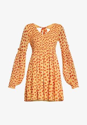 MARIA MINI DRESS - Day dress - orange