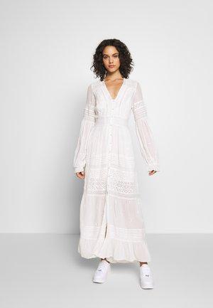 LISA MIDI - Robe longue - off white